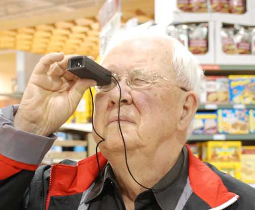 Visual rehab low vision devices welcome